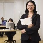Smiling Career Woman — Stock Photo