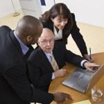 Business Workin on Laptop — Stock Photo