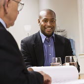 Men in Meeting at Office — Stock Photo