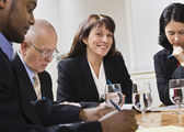Business in Meeting — Stock Photo