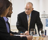 Business team meeting — Stock Photo