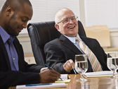Men in Business Meeting — Stock Photo