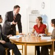 Business in a meeting - Stock Photo