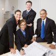 Business working together - Stock Photo