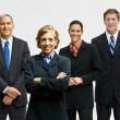 Business smiling — Stock Photo