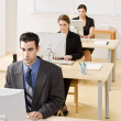 Business typing on computer — Stock Photo #18800161
