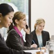 Businesswoman on Cell Phone — Stock Photo #18800439