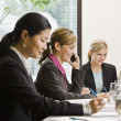 Businesswoman on Cell Phone — Stock Photo #18800449