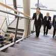 Royalty-Free Stock Photo: Business Traversing Stairs