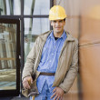 Young Male Construction Worker — Stock Photo