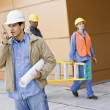 Young Male Construction Worker - Stock Photo