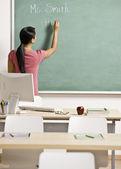 учитель в классе — Стоковое фото