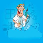 Dentistry profession — Stock Vector