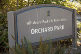 Hillsboro Parks and Recreation: Orchard Park — Stock Photo