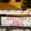 Royalty-Free Stock Photo: Keno Open Bible Church