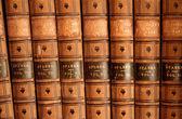 Leather Bound Books — Stock Photo
