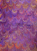Renaissance/Victorian Marbled Paper 11 — Stock Photo