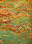 Renaissance/Victorian Marbled Paper 16 — Stock Photo