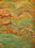 Renaissance/Victorian Marbled Paper 16 — Stock Photo