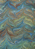 Renaissance/Victorian Marbled Paper 1 — Stock Photo