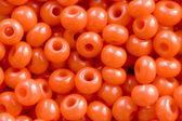 Orange Beads, Background — Stock Photo