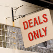 Deals Only — Stock Photo