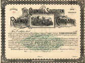 Old Stock Certificate 3 — Stock Photo