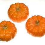 Three Pumpkins — Stock Photo #17839651