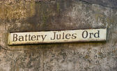 Battery Jules Ord, Fort Columbia (2) — Stock Photo