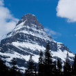 Peak, Glacier National Park — Stock Photo