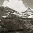Two Peaks, Glacier National Park — Stock Photo #18386321
