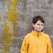 Stock Photo: Boy in Fleece Pullover