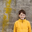 Boy in  Fleece Pullover — Stock Photo