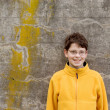 Boy in Fleece Pullover — Stock Photo #18389973