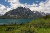 Озеро Святой Марии, Национальный парк Глейшер — Стоковое фото