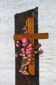 Memorial Cross, Knappa Dock — Foto de Stock