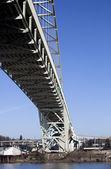 Fremont Bridge in Portland, Oregon — Stock Photo