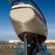 Fishing Boat, Dry Dock — Stock Photo
