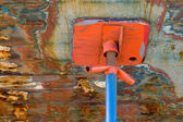 Detail, Fishing Boat, Dry Dock — Stock Photo