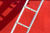 Ladder, Shadow, and Hull — Stock Photo