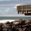 Viewing Platform at the South Jetty — Stock Photo