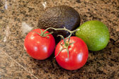 The Beginnings of Guacamole — Stockfoto