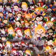 Brightly Colored Dolls — Stock Photo
