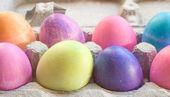 Eight Easter Eggs — Stock Photo