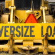 Oversize Load - Stock Photo