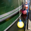 Photo of a Green Fishing Boat, Columbia River — Stock Photo