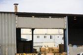Industrial Metal Builiding — Stock Photo