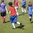 match de foot de filles — Photo
