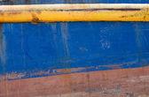 Grunge Background: Ship's Hull — Stock Photo