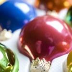 Box of Christmas Ornaments — Stock Photo #19827365